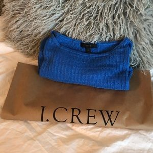 J. Crew Cable Knit Linen Sweater.
